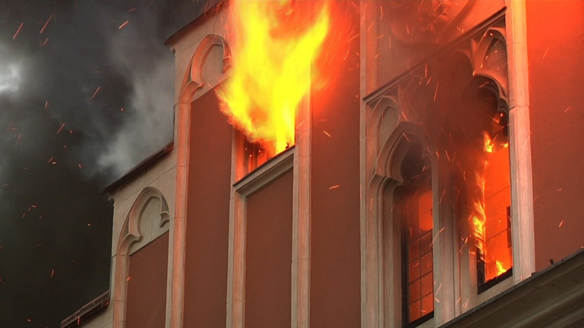 Straubing Rathausbrand